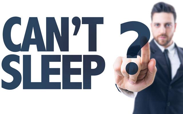 Cant Sleep.