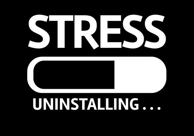 Removing Stress.