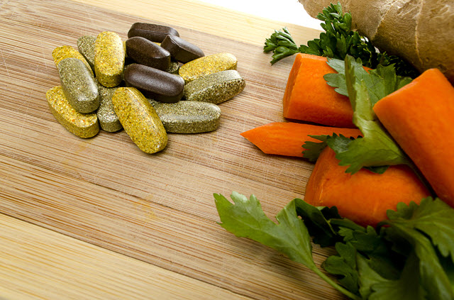 Vitamins and Vegetables.